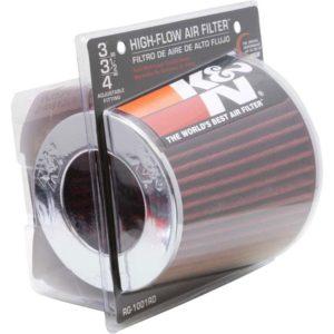 K&N Filtros de Aire Universal Rojo