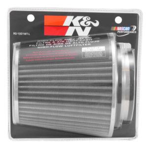 K&N Filtros de Aire Universal Blanco