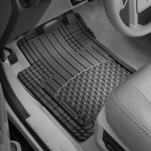 Omac GmbH Range Rover Sport Goma felpudos Pol/ímero Alta 3D Goma Alfombrillas Coche Alfombras a Partir de 2015