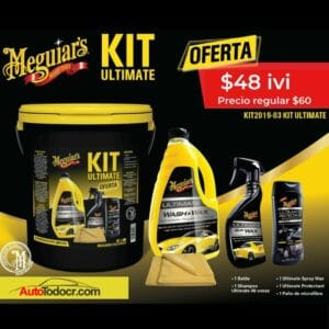 Kit Ultimate Meguiar's